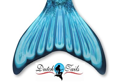 Dutch Tails zeemeermin staart schubben aqua