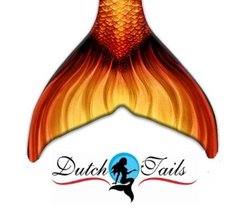 Dutch Tails zeemeerminnen staart schubben Dahlia