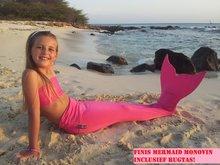 Dutch Tails zeemeermin set roze