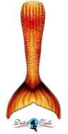 Dutch Tails zeemeermin staart schubben vuur